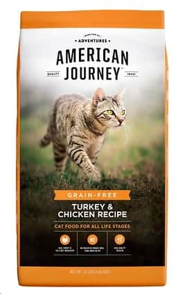 12-lbs American Journey Dry Cat Food (various) 2 for $22.49 ($11.25 each) + Free Shipping