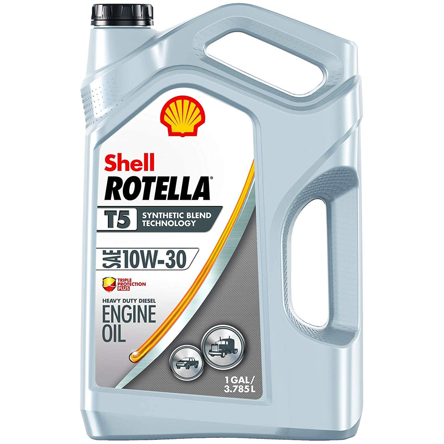 1-gal. Shell Rotella T5 Synthetic Blend 10W-30 Diesel Engine Oil $14.30 w/ S&S + Free Shipping