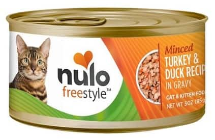 New Chewy Autoship Customers: 48-can 3-oz Nulo Freestyle Wet Cat & Kitten Food (various) $36.06 ($0.75 per can) + Free Shipping