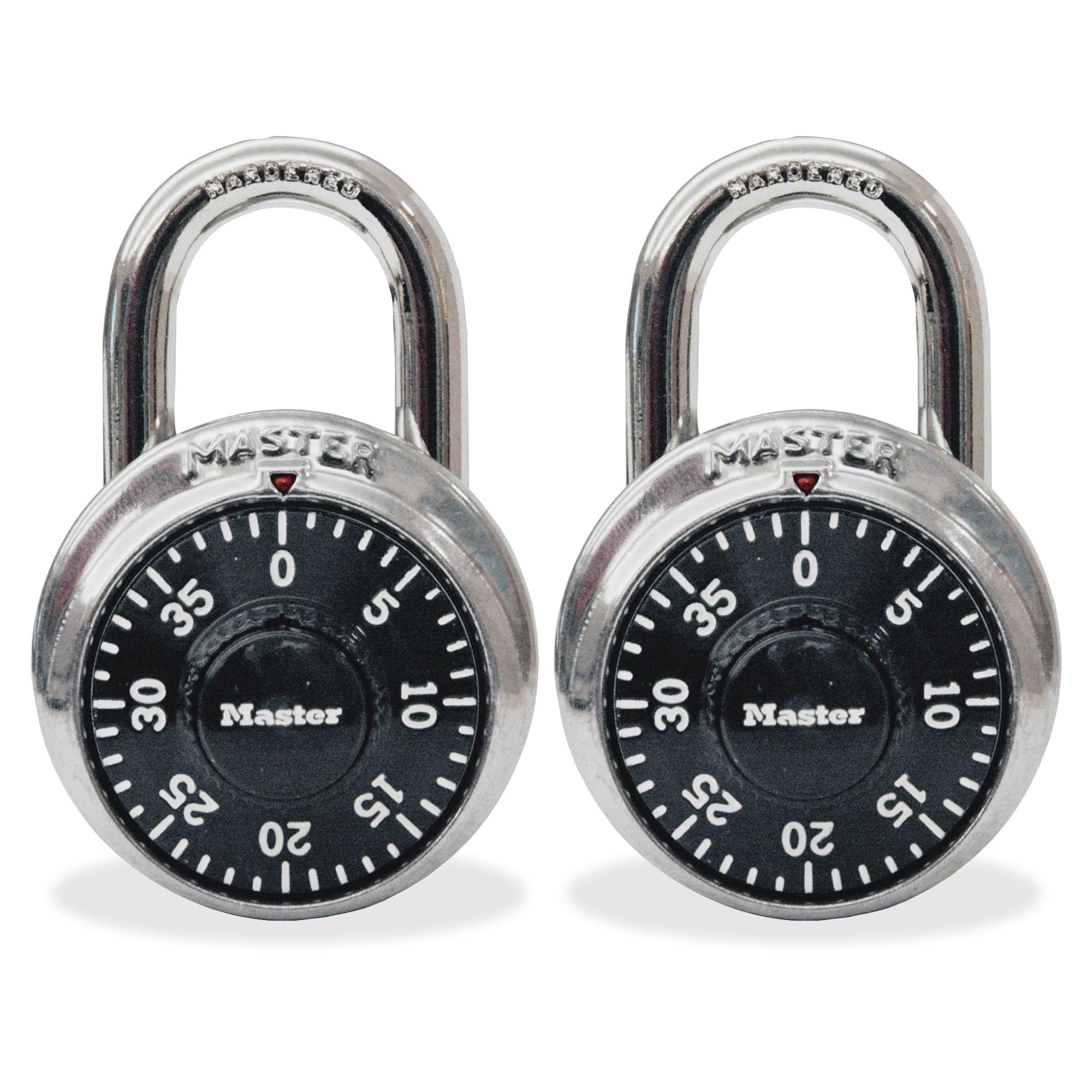 2-Pack Master Combination Lock 1500T $6.70 + Free Store Pickup at Walmart or Free Shipping with Prime