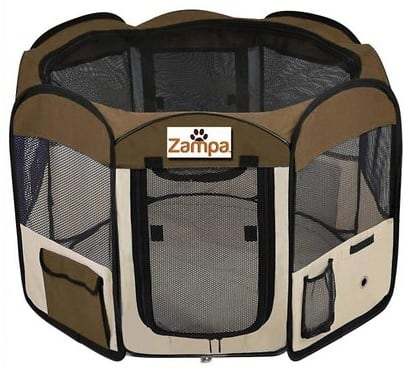 New Chewy Autoship Customers: Zampa Pet Folding Playpen: Small $24.86, Medium $24.93, Large $39.63 + Free Shipping