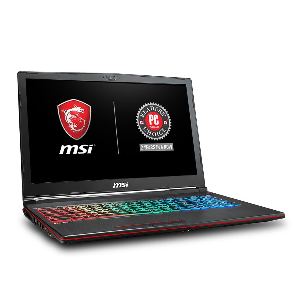 "MSI GP63 Leopard-077 15.6"" Performance Gaming Laptop i7-8750H (6 cores), NVIDIA GeForce GTX 1060 6G, 256GB SSD + 1TB HDD, 16GB RAM, WIN 10, VR READY, RGB KB $450 *Walmart B&M YMMV*"