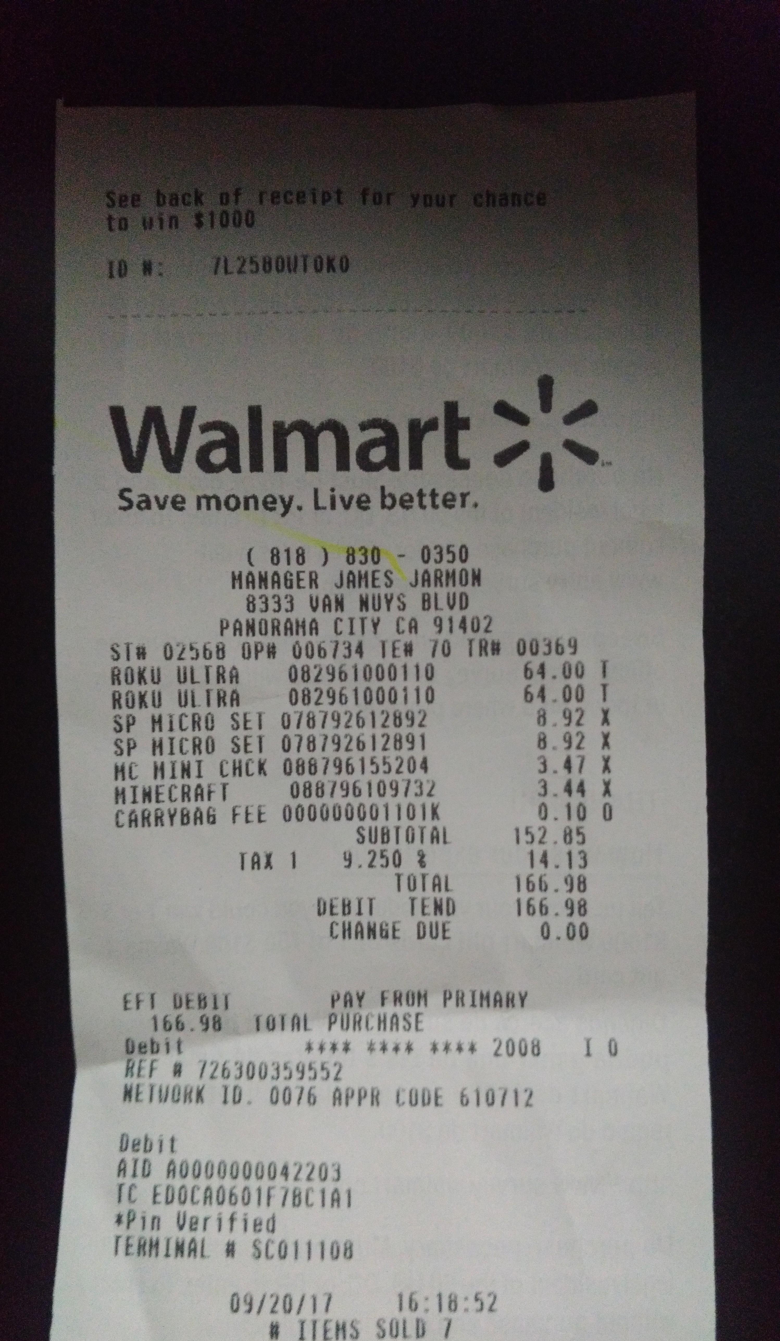 Roku Ultra Walmart Clearance $64 (YMMV)