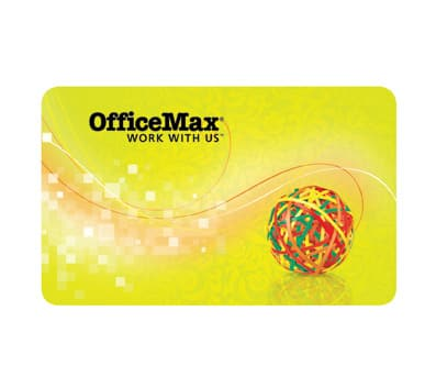 Officemax.com FREE $25 GC with any $200 purchase, including GIFT CARDS!