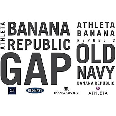 20% Off Select Gift Cards (IN-STORE ONLY):  Gap, Athleta, Old Navy, Banana Republic, Baby GAP