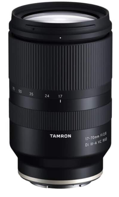 Tamron 17-70mm f/2.8 Di III-A VC RXD Lens for Sony E $100 EDU Discount $699
