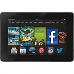 "Amazon Kindle Fire Tablets: 16GB HDX 7"" 1920x1200 $179, 16GB HD 7"" 1280x800"