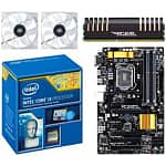 Intel Core i3-4150 CPU + Gigabyte GA-Z97-HD3 Motherboard + 4GB DDR3 1600 Bundle