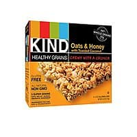 Amazon Deal: 15-Count KIND Healthy Grains Granola Bars: Oats & Honey with Toasted Coconut for $8.61 (as low as $7)