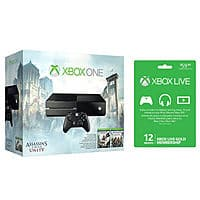 eBay Deal: Xbox One Console Assassin's Creed Unity Bundle + 1-Year Xbox Live Membership