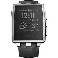 eBay Deal: Pebble Steel Smart Watch for Apple & Android Devices (Silver or Black)