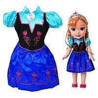 Target Deal: Disney Frozen Anna Doll and Toddler Dress Combo