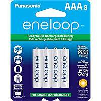 Adorama Deal: 16-Pack Panasonic Eneloop Ni-MH Rechargeable Batteries: AA $30, AAA