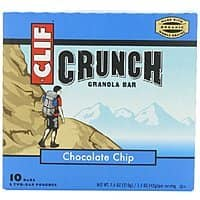 Amazon Deal: 10-Count of 7.4oz Clif Crunch Granola Bars (Chocolate Chip)