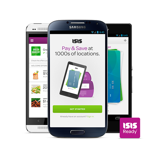 20% Cashback on All Purchases using Isis and Serve (only for eligible Android phones)