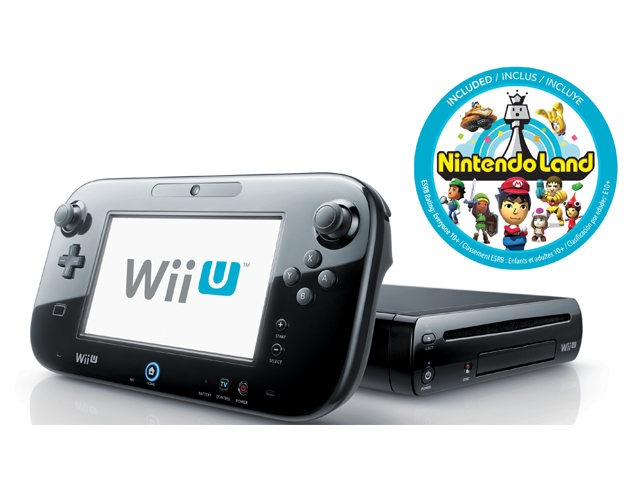 32GB Wii U Deluxe Black (Refurbished) w/ Nintendo Land $200 + $5 ship - Nintendo Online Store Re-Opened