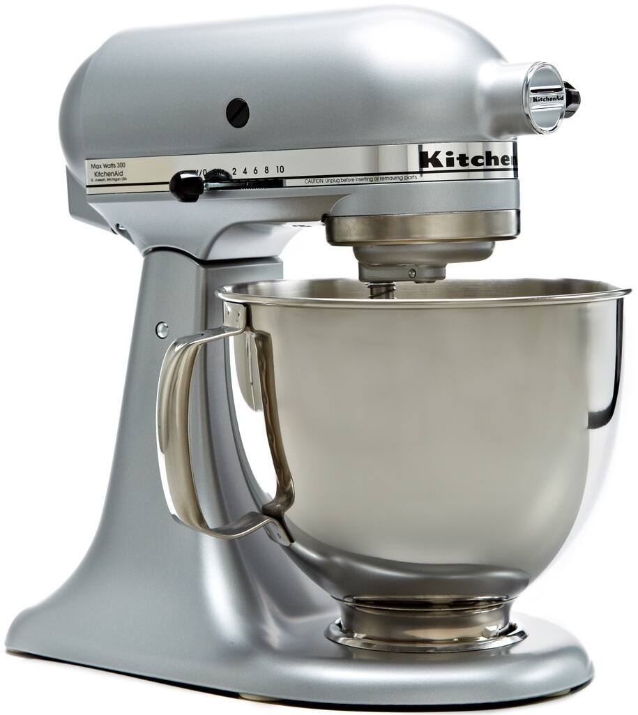 4.5QT KitchenAid Stand Mixer (Silver, Red, Black, or Green)  $159