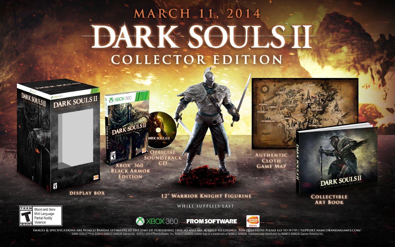 Dark Souls II Collector's Edition (Xbox 360)  $30