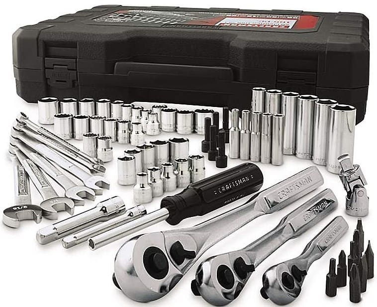 Craftsman 165 PC Mechanics tool set for $63.74 @ Sears FS w/MAX or free pickup at store