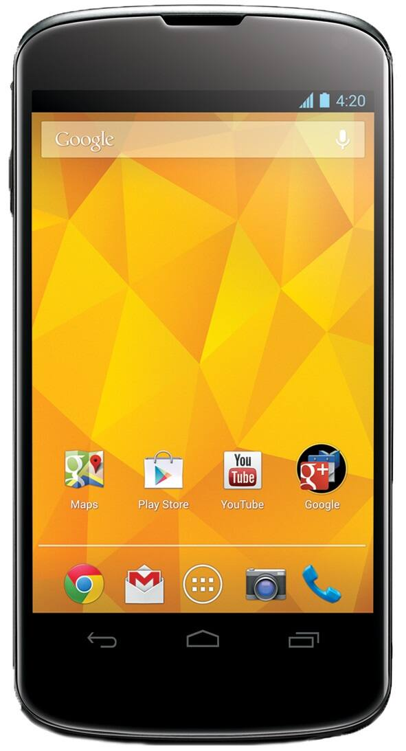 "Google Nexus 4 4.7"" Android Smartphone (Refurbished): 16GB $170 or 8GB  $150 + Free Shipping"