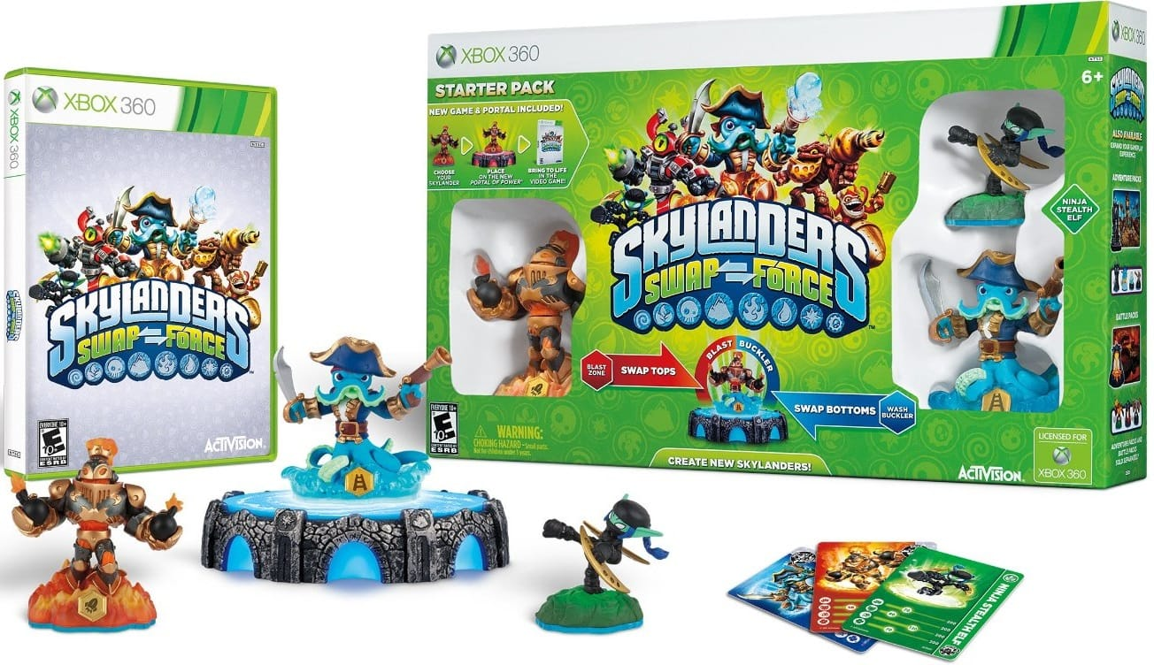 Skylanders SWAP Force Starter Pack + $51 Shop Your Way Points  $55 + Free Store Pickup
