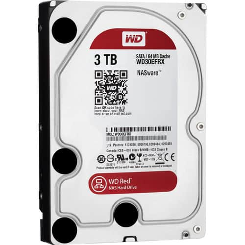 "4 x Western Digital Red WD Red 3TB IntelliPower 64MB Cache SATA 6.0Gb's 3.5"" NAS Hard Drive HDD $400 Shipped"