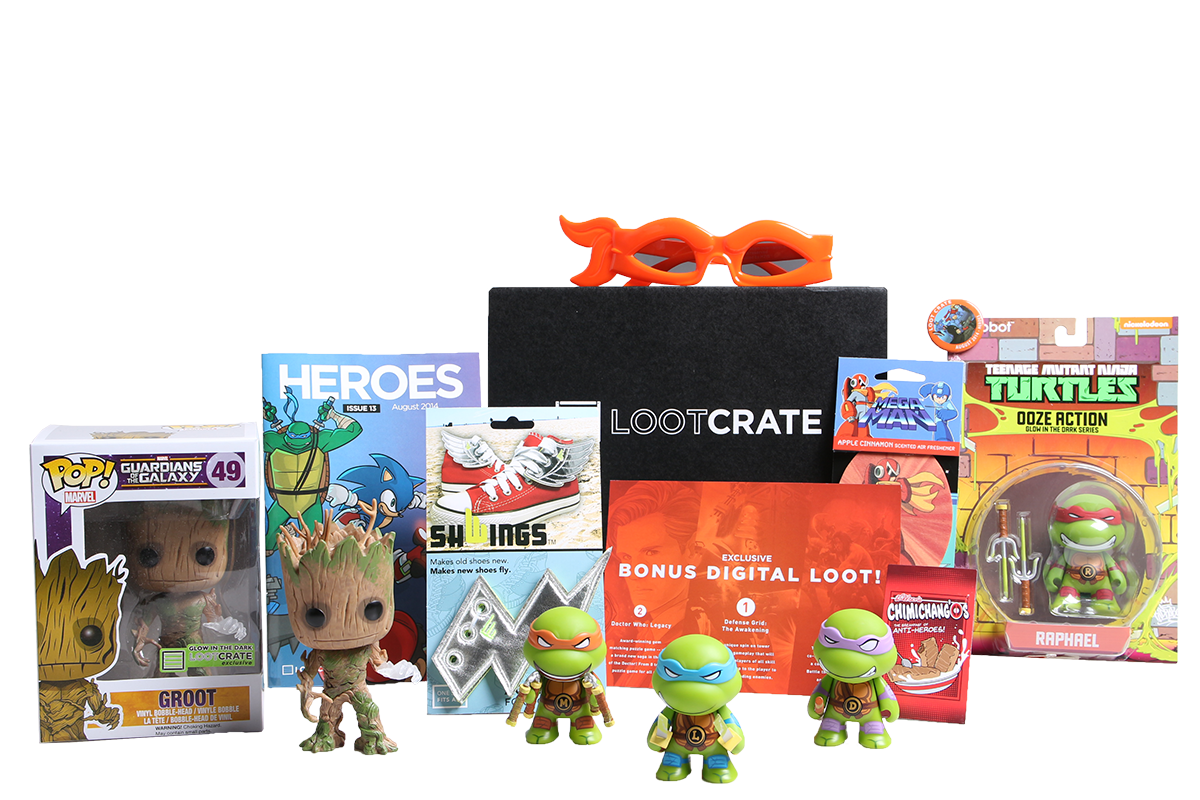 1-Month Loot Crate Subscription  $5 + Free Shipping