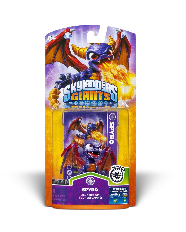 Skylanders Giants Characters: Drobot, Elf, Hex, Lightning Rod, Spyro  $4 Each & More