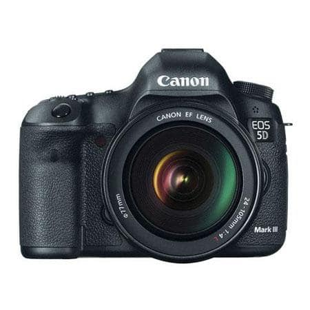 Canon Camera + Printer Bundles: EOS-5D Mark III DSLR w/ EF 24-105L Lens  $3049 after $650 Rebates & More + Free Shipping