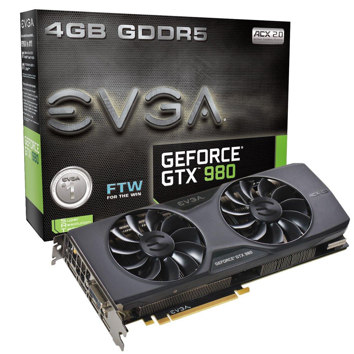 EVGA GeForce GTX 980 4GB FTW ACX 2.0 ($481 w/ Promo Code: NVEVGASALEGTX after $10 MIR) @Newegg
