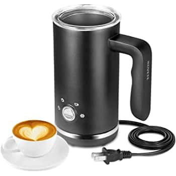 Milk Frother, Electric Milk Frother and Steamer, Large Capacity 4 in 1 Automatic Foam Maker $21.99+FS