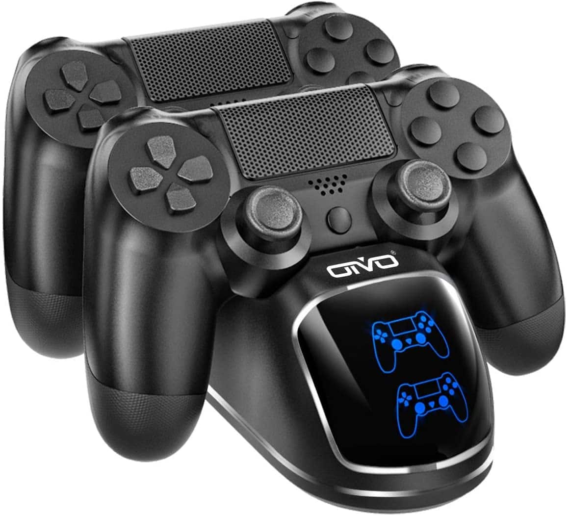 PS4 Controller Charger Dock Station, OIVO Controller Charging Dock $9.09+FS