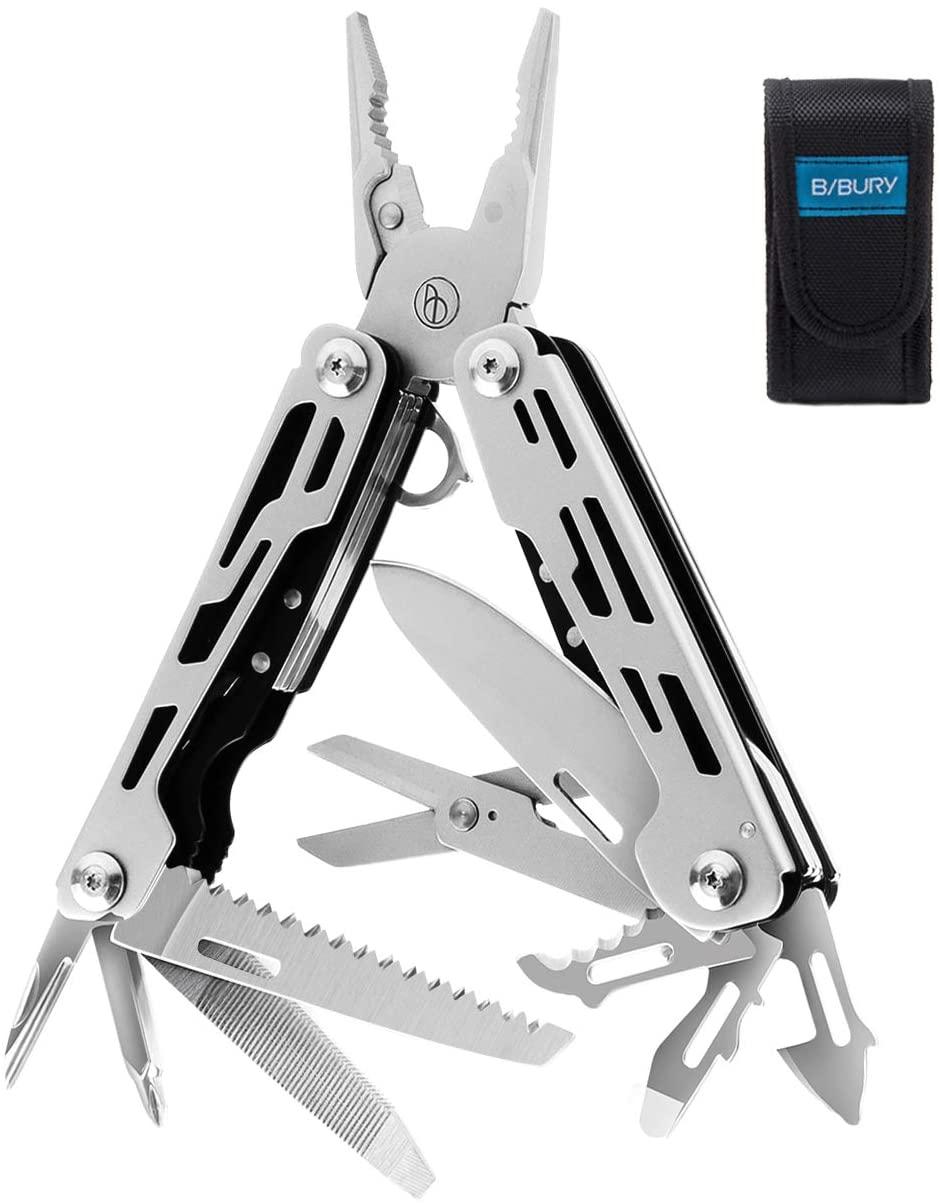 Multitool Pliers, 13-in-1 Sandblasted Multi-Purpose Pocket Plier $12.99+FS
