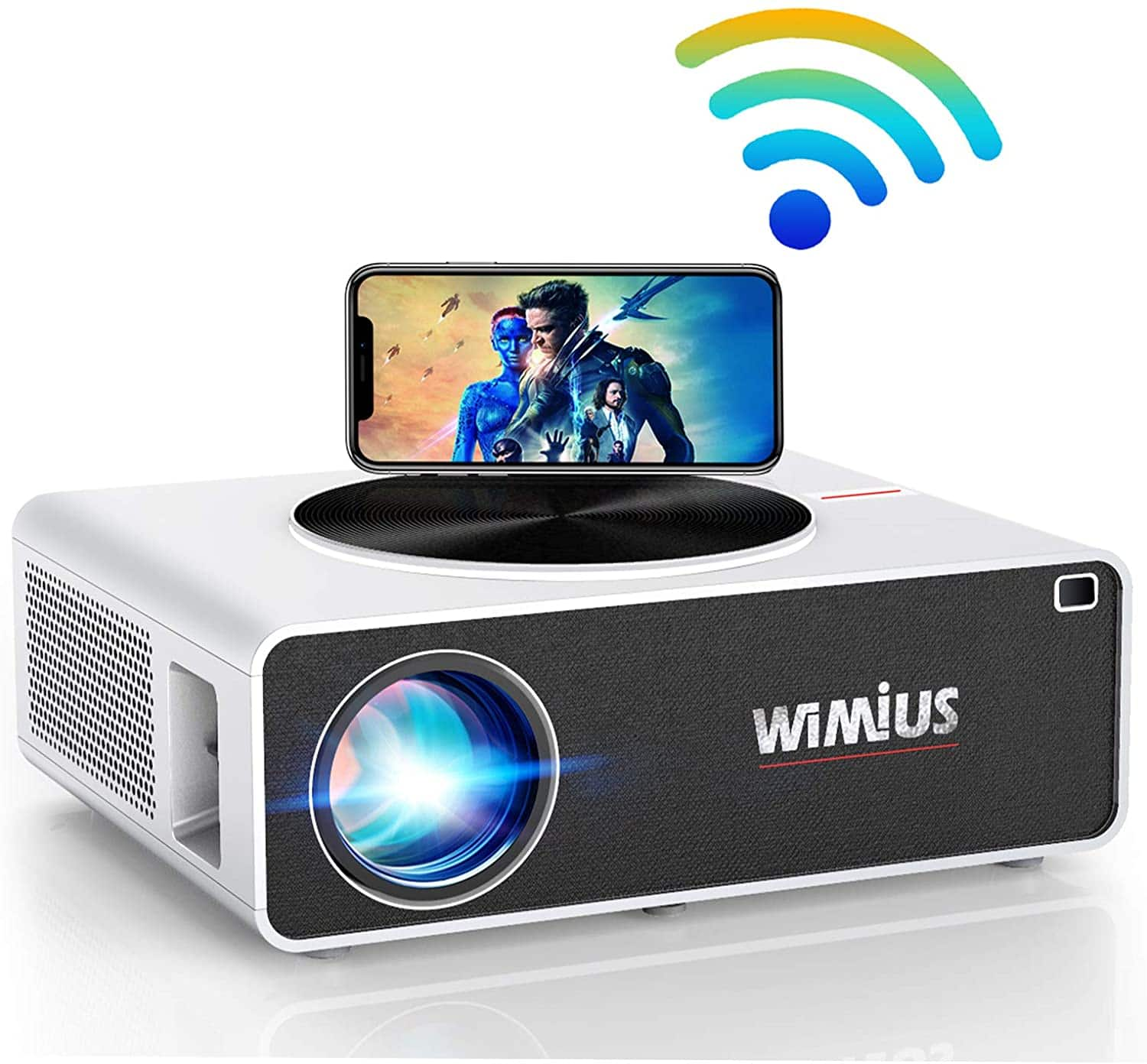 5G WiFi Projector, WiMiUS K3 7500L 4K Supported Video Projector Native 1920x1080 LED Projector  $155.99+FS