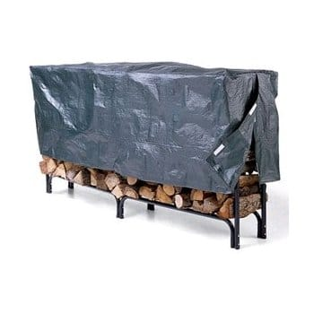 Landmann 82434 8-Foot Firewood Log Rack with Fitted Cover - $40 + FS