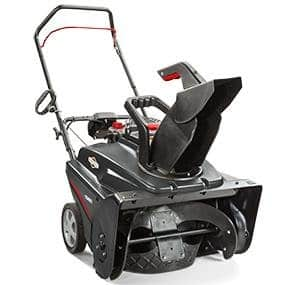 "Briggs & Stratton 22"" Single Stage Snow Thrower with Electric Start $359.1"