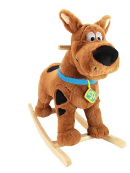 Scooby Doo Soft & Plush Rocker $25.16