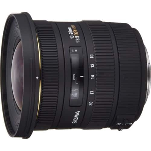 SIGMA 10-20mm F3.5 EX DC HSM Super-Wide Angle Lens for Nikon -  $350 + Free Shipping (expiring today)