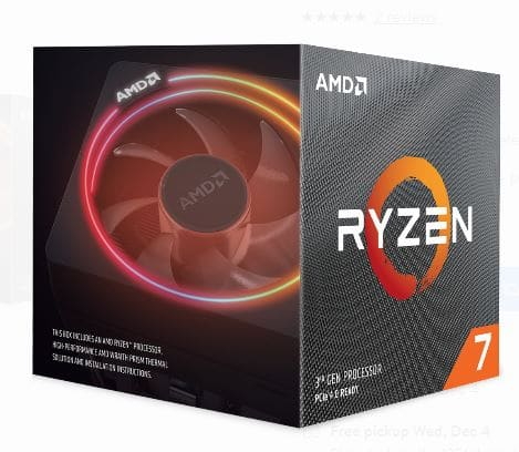 "AMD Ryzen 7 3700X 8C/16T $299.99 + ""The Outer World"" OR ""Borderlands 3"" + 3 months XBOX Game Pass + Free Shipping"
