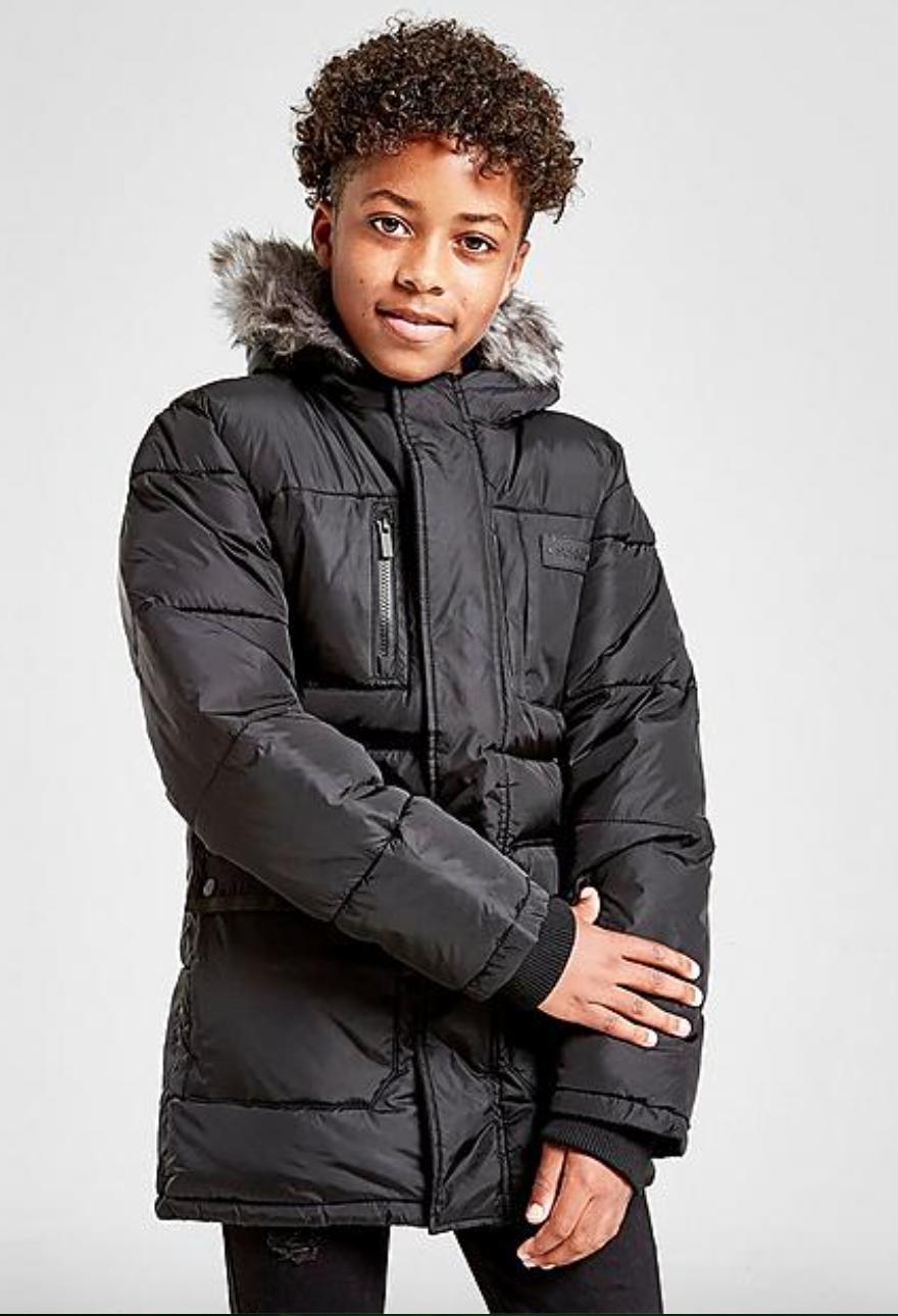 Sonneti Boys' Reflective Parka Jacket (black) $20 + 8% SD Cashback (PC Req'd) + Free Shipping
