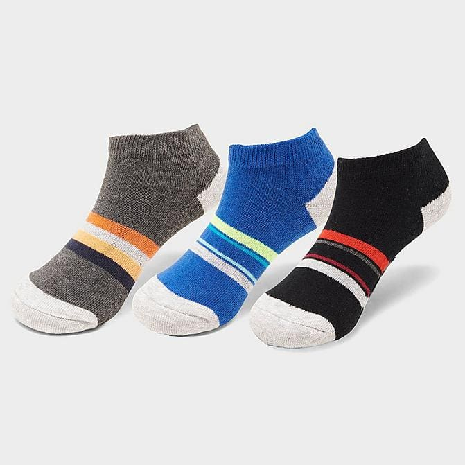 3-Count Finish line Kids' No Show Socks $3 & More + 8% SD Cashback (PC Req'd) + Free Shipping