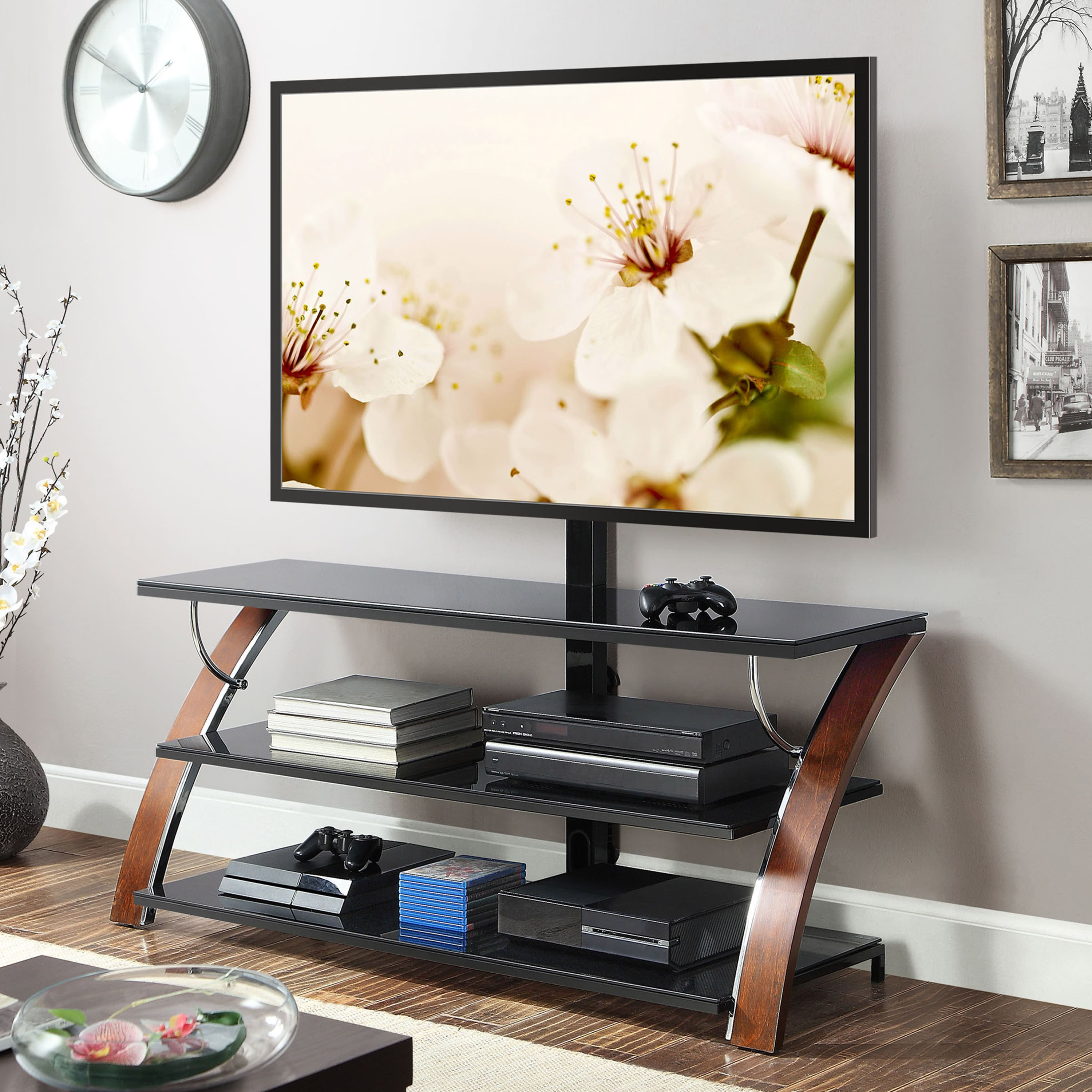 "Whalen Payton 3-in-1 Flat Panel TV Stand (up to 65"") $115 + Free Shipping"