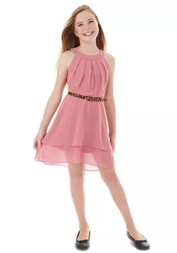 Big Girls' Dresses from $16: BCX Pleated Halter Dress, Scalloped Maxi Halter Dress, Stappy Maxi Dress & More + Free Store Pickup