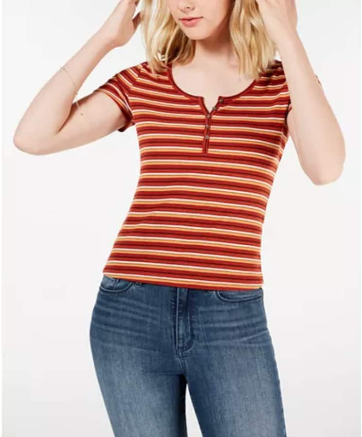 Junior Girls' Tops and Tees from $7.19 + $10 Macy's Money w/ $50+ spent; Free S/H $25+ or Free Store Pickup