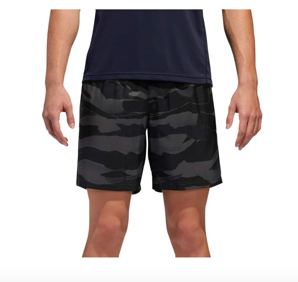 adidas Select Apparel: Men's Graphic Running Shorts $13.97, Women's ID Tank Top 2 for $17.96 ($8.98 each) + Free S&H on $49+