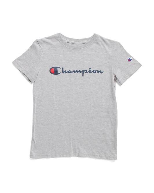 Big Boys Champion T-Shirt $5, adidas Beanie $5 & More + Free Shipping