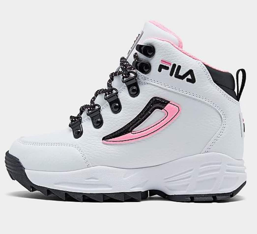 Fila Little Girls' Unknown Territory Sneaker Boots $11.25 & More + free shipping
