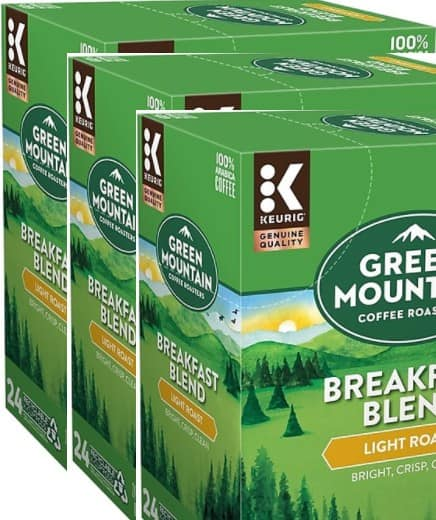 144-Count Green Mountain Coffee Keurig K-Cup Pods $46.50 (various) + Free Shipping