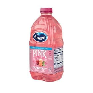 64-Oz Ocean Spray Pink Cranberry, Cran-Tropical, or Pink Cranberry Passionfruit Juice $1.44 each + Free Store Pickup at Target