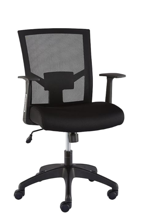 Staples Ardfield Mesh Back Fabric Task Chair (Black) $75 + Free Shipping